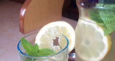Σπιτική Λεμονάδα Μοχίτο Marmalade, Breakfast Time, Lemonade, Glass Of Milk, Recipies, Cooking Recipes, Pudding, Sweets, Drinks