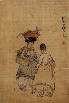 Hyewon-eomul.jangsu - Shin Yun-bok - Wikipedia, the free encyclopedia