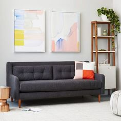 All Sofas Couches Sleeper Sofas and Chaise | west elm | Couch | Pinterest | Contemporary sofa Chairs and Leather : west elm crosby sectional - Sectionals, Sofas & Couches
