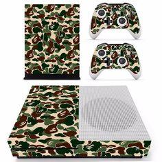 Army Camo Skin - Xbox One Slim Protector