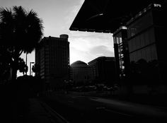 A stunning #afternoon in the heart of #thecitybeautiful #downtown #orlando #florida #streetphotography #blackandwhite #androidphotography #igtoppicture #picoftheday #instadaily #awesome #followme #myart
