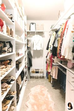 #Closet #House Organization Ideas dream closets #Long #Overdue #post #promising #share #time This post is so long overdue! I kept promising to share my closet, but each time... This post is so long overdue! I kept promising to share my closet, but each time I organized or reorganized, I would think of a new way that I could make it more useful. Your…