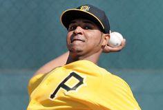 Pirates pitcher Stolmy Pimentel (Photo credit: Christopher Horner  |  Tribune-Review)