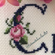 Cross Stitch, Wallpaper, Instagram, Cross Stitch Borders, Cross Stitch Art, Alphabet, Cross Stitch Letters, Punto De Cruz, Needlepoint