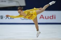 Courtney Hicks of the US performs during the women's free Skating event of the Cup of China ISU Grand Prix of Figure Skating in Beijing on November 7...