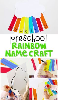 Fantastic Free of Charge rainbow preschool classroom Tips Are you a brand-new teacher who's going to be wondering the best way to set up a new preschool educational setting? Rainbow Crafts Preschool, Name Activities Preschool, Preschool Classroom Setup, Rainbow Activities, Classroom Crafts, Spring Activities, Toddler Preschool, Preschool Activities, Free Preschool
