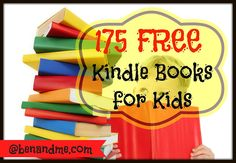 If your kids received a #Kindle for Christmas, be sure to check out my list of over 175 free kids books for Kindle. #free #homeschool