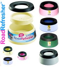 Road Refresher Non-Spill Pet Bowl Colours