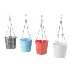 IKEA - SOCKER, Hanging planter, Decorate your home with plants combined with a plant pot to suit your style.