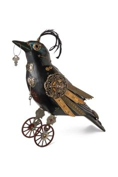Clock Work Raven