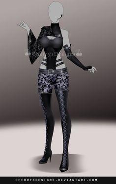 (24H AUCTION) Outfit Adopt 706 by CherrysDesigns.deviantart.com on @DeviantArt
