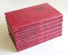 The Happy Hollisters Mystery Books. Oh my gosh I LOVED these books!