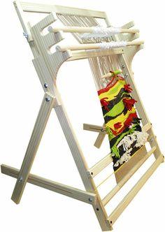 telar vertical Weaving Loom Diy, Straw Weaving, Inkle Loom, Tablet Weaving, Hand Weaving, Weaving Machine, Tapestry Loom, Peg Loom, Spinning Yarn