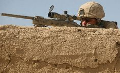 Marine sniper by United States Marine Corps Official Page, via Flickr