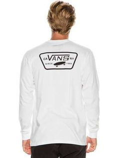 VANS FULL PATCH BACK LS TEE