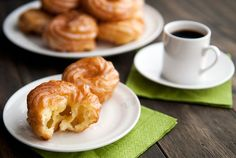 French cruller doughnuts