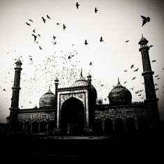 The hauntingly majestic Taj Mahal is shot by photographer Josef Hoflehner in a series that faithfully captures this beautiful mausoleum. Creative Photography, Fine Art Photography, Amazing Photography, Landscape Photography, Travel Photography, Heart Photography, Black And White Landscape, Black N White Images, Taj Mahal