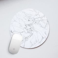 Marble Mouse Pad Marble Mousepad Mouse Mat by PinkPiggyStudio