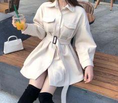 Korean Fashion Dress, Kpop Fashion Outfits, Girls Fashion Clothes, Korea Fashion, Korean Outfits, Retro Outfits, Girly Outfits, Cute Casual Outfits, Stylish Outfits