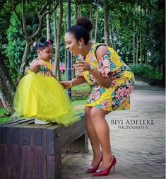 Too Cute 25 Ankara Mother And Daughter Matching Outfits