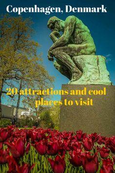 20 attractions and cool in Copenhagen