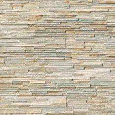 ms golden honey pencil ledger panel 6 in x 24 in natural quartzite wall tile 8 cases 64 sq ft pallet