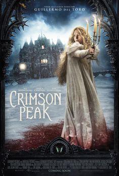 what horror awaits her? | Crimson Peak in theaters 10.16.15
