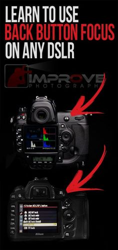 Back button focus on any DSLR