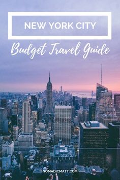 da7d0840ccbb How to Visit NYC on a Budget 2019  The  1 Most Updated Guidebook