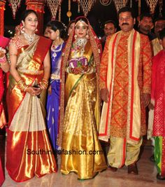 Revanth Reddy Daughter Nymisha Reddy's Wedding - South India Fashion Blog