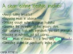 Easy Clean Eating Lifestyle »the rules«