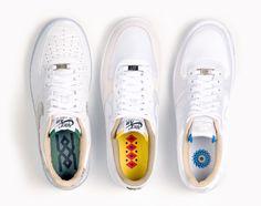 """Nike Air Force 1 """"Brazil Pack"""""""