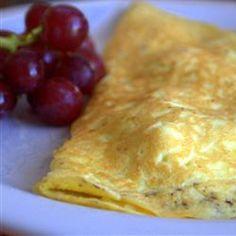 Turkey Filled Omelette http://allrecipes.com/recipe/turkey-filled-omelette/