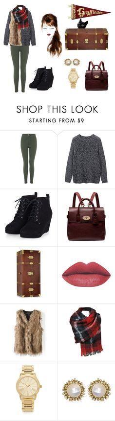 """""""Ch.1"""" by ohlala423 ❤ liked on Polyvore featuring Miss Selfridge, Toast, Mulberry, The Bridge, Michael Kors and Kendra Scott"""