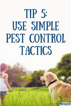 Outdoor pest control Tip 5: Use simple pest control tactics. More at http://www.insightpest.com/pest-control