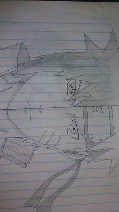 Naruto Sketch, Naruto Drawings, Anime Drawings Sketches, Dark Art Drawings, Pencil Art Drawings, Anime Sketch, Naruto Eyes, Naruto Y Sasuke, Naruto Art