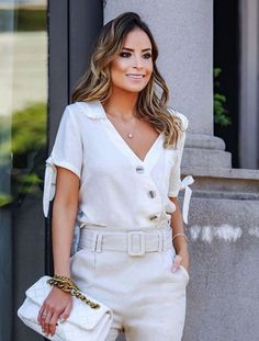 Office Outfits, Blouse Styles, Casual Chic, Casual Looks, Summer Outfits, Shirt Dress, Womens Fashion, Clothes, Collection