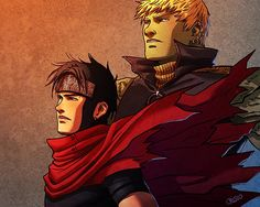 Wiccan y Hulkling aka Patrick and I in comic form