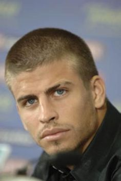 Gerard Pique, plays for Barcelona (and boyfriend of Shakira ;-))