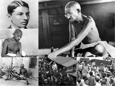 28 Rare photos of Mahatma Gandhi