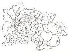 riscos de frutas para colorir - Resultados Yahoo Search da busca de imagens