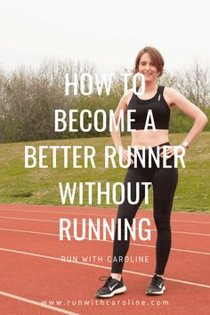 The best way to become a better runner is, well, to run. However, without running there are ways to improve your strength and performance through other means such as strength training and cross training. How To Get Better, How To Become, Cross Training, Strength Training, Beginners Guide To Running, Get Shredded, Running Man, Running Workouts, Get Well