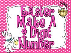 Easter Make A 2 Digit Number