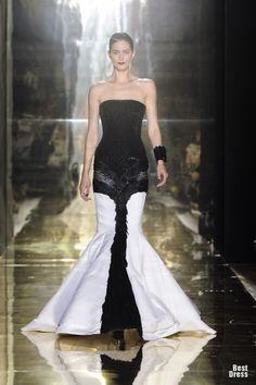 GEORGES CHAKRA 2012/13 HAUTE COUTURE COLLECTION - evening wear, lebanese designer, haute couture