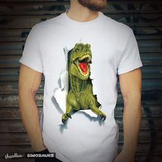 Unleash your inner REX! T Rex Shirt, Dinosaur Illustration, Dinosaur Shirt, Special Characters, Lower Case Letters, Lowercase A, Designers, Tees, Shop