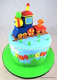 Bob the Train cake Cherry Red Cake Pinterest Bobs Cake and