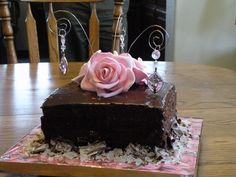 Pictures of Beautiful Birthday Cakes | Beautiful Bling Birthday cake for my sister Amy!