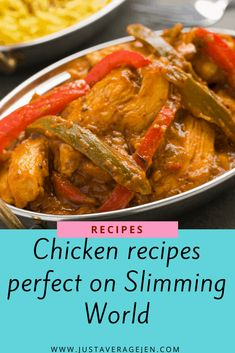 Tasty recipes that you can make with chicken for all the family perfect on Slimming World everything from casseroles to kebabs, check them all out here. Slimming World Chicken Dishes, Slimming World Recipes, Good Healthy Recipes, Vegetarian Recipes, Vegetarian Chicken, Mild Curry Recipe, Spicy Sausage Pasta, Speed Foods, Quorn