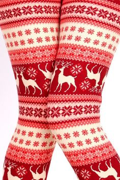 The Stag - Festive Reindeer Legging $15.00 Free Shipping on orders $25+ #ChristmasLeggings