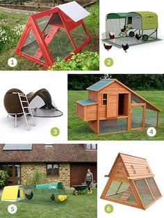 More awesome chicken coops